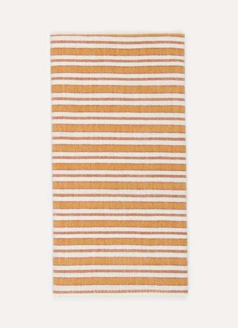 Multi Stripe Goldenrod Napkins by Heather Taylor Home