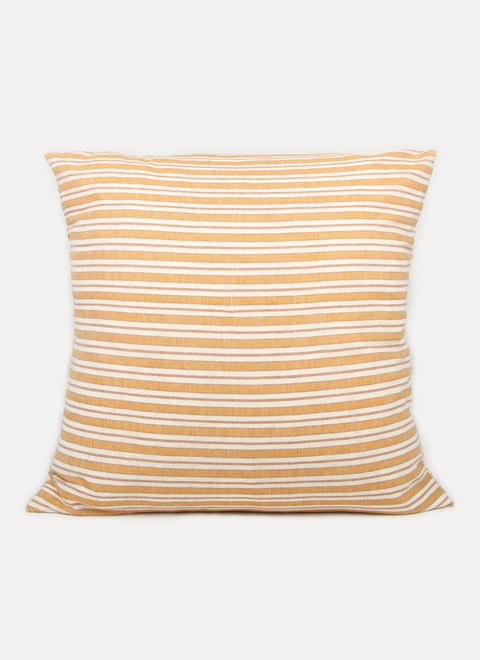 Multi Stripe Goldenrod Pillow by Heather Taylor Home