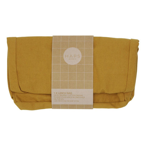 Mustard Lunch Bag by Haps Nordic