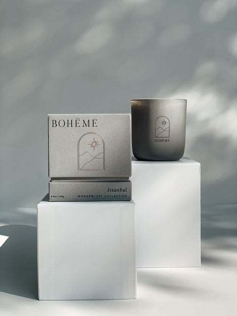 The Istanbul Candle by Bohéme Fragrances