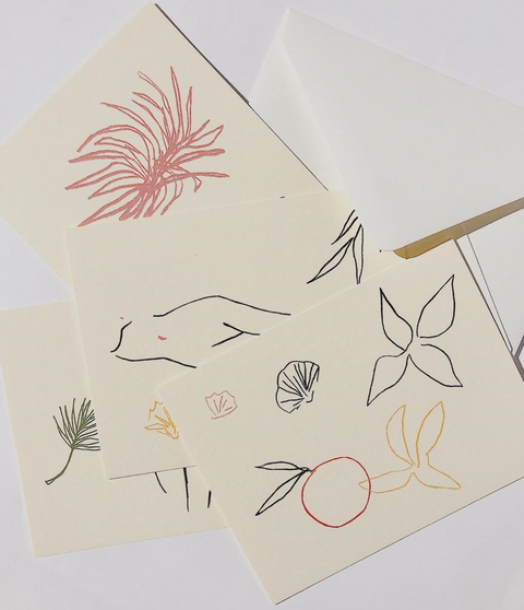 The Fauna Notecard Set by Wilde House Paper