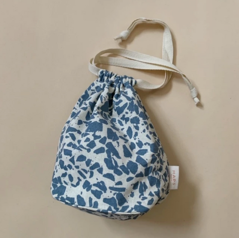 Ocean Blue Terrazzo Small Bag by Haps Nordic