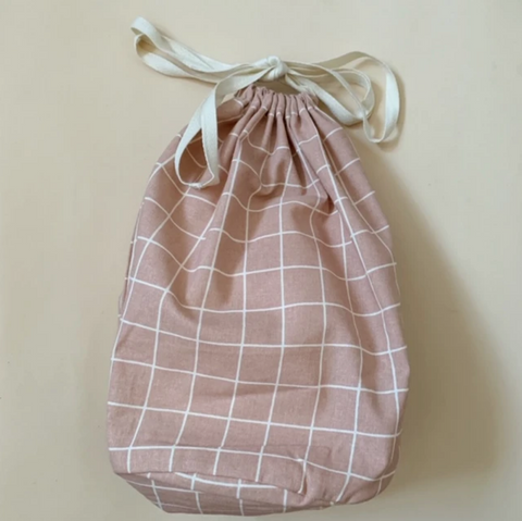 Rose Check Large Multi Bag by Haps Nordic
