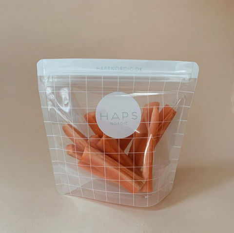 Small Checked Snack Bag by Haps Nordic