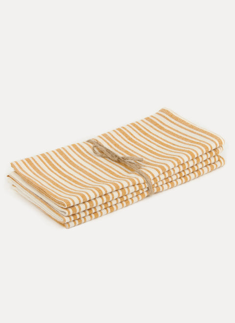 Sunset Goldenrod Napkin Set by Heather Taylor Home