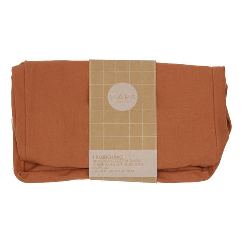 Terracotta Reusable Lunch Bag by Haps Nordic