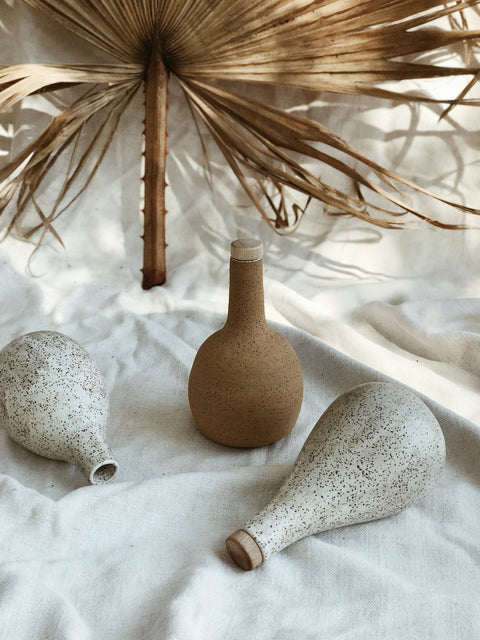Ceramic Water Gourd Vessel by Easy to Breathe