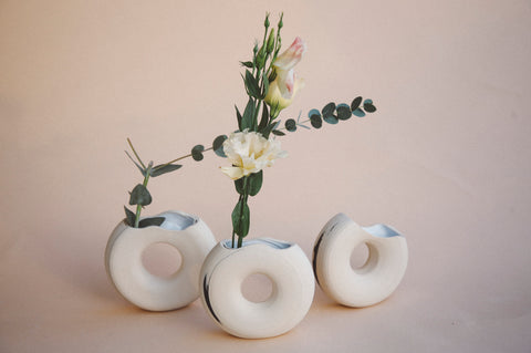 Waves Vase by Salamat Ceramics