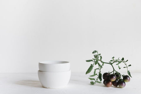 White Soup Bowl by Notary Ceramics