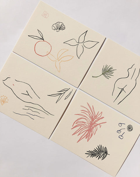Fauna Notecard Set by Wilde House Paper