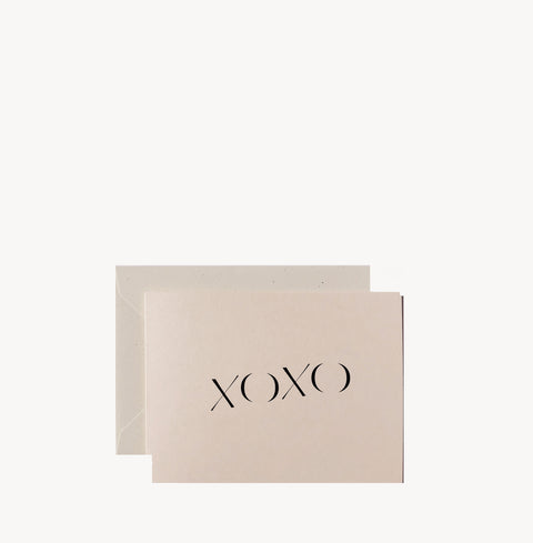 XOXO Card by Wilde House Paper