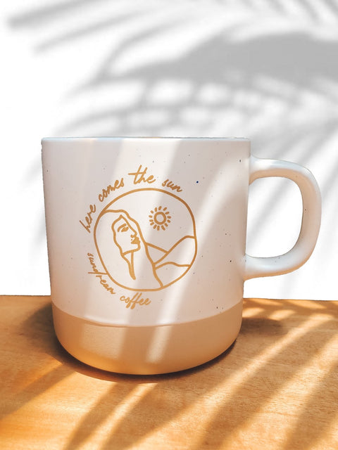 """Here Comes the Sun"" mug by Sundream"