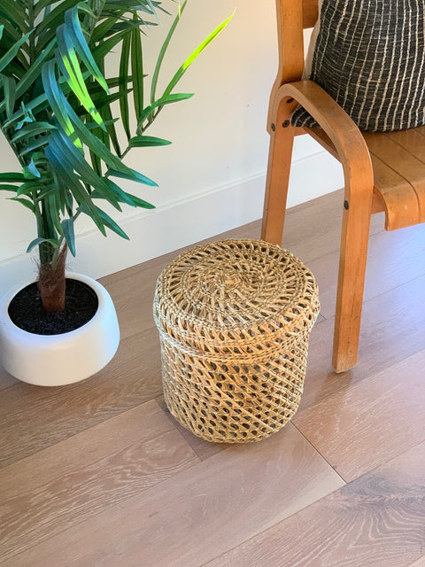 Chilote Basket with Lid