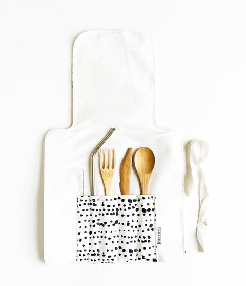 Labyrinth Travel Cutlery Set by Hali Hali