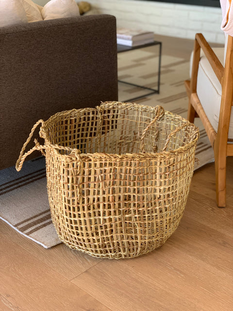 Medium Woven Chilote Basket by Domecil