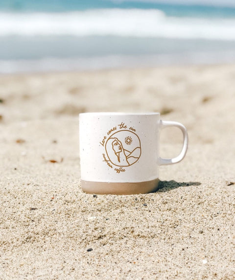 """Here Comes the Sun"" mug by Sundream Coffee"