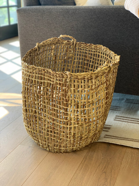 Large Woven Chilote Basket by Domecil