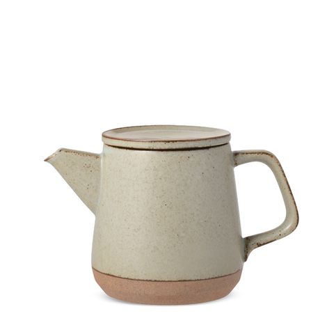Beige Ceramic Lab Teapot