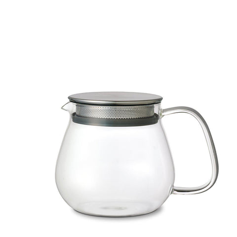 Unitea One Touch Glass Teapot by Kinto | H. SMITH