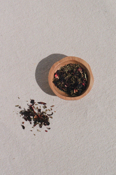 Rosella Mint Tea by Leaves and Flowers | H. SMITH