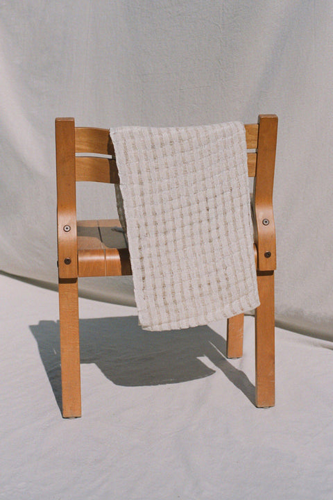 Cream Wabi Sabi Blanket by Mexchic | H. SMITH