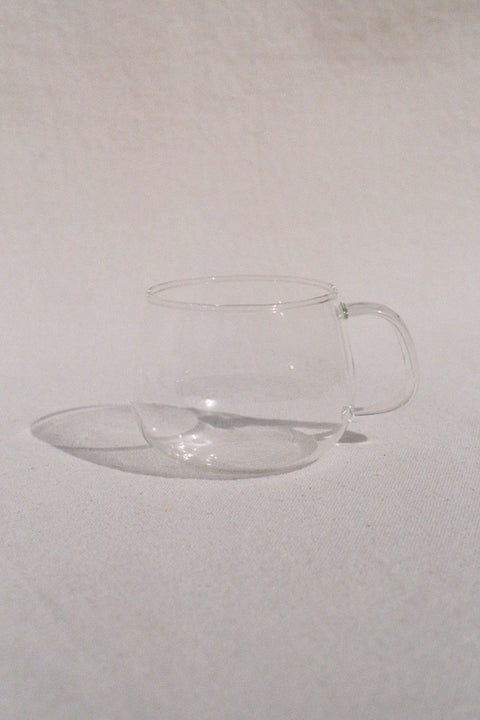 Small Unitea Glass Cup by Kinto | H. SMITH