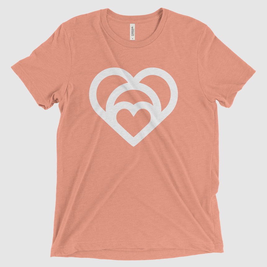Mom is Love - Super Soft Tee (Salmon)