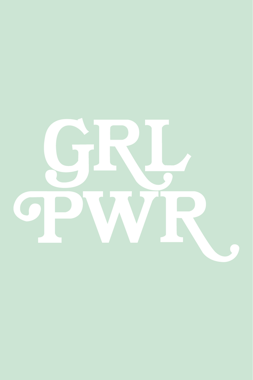 GRL PWR by Andrea Bosnak