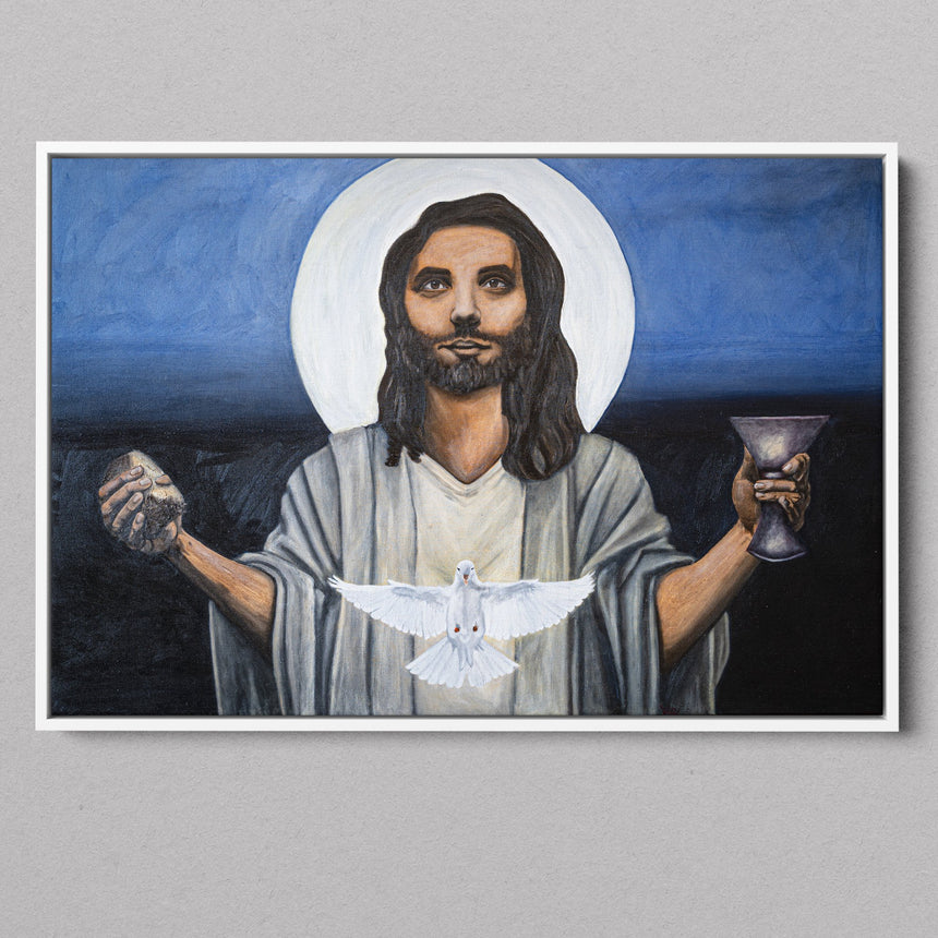 Christ with the Loaf & Cup