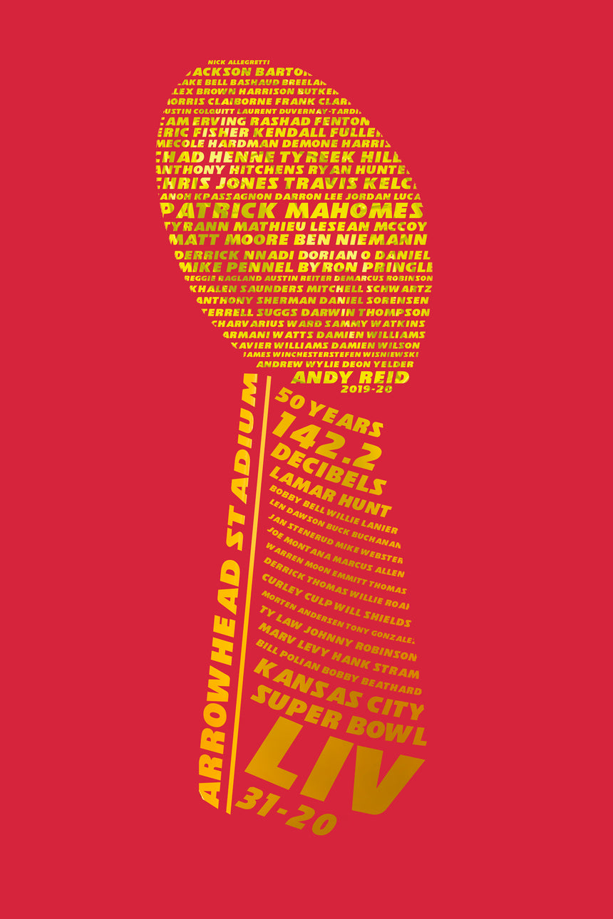 Chiefs R Champs Graphic Tee