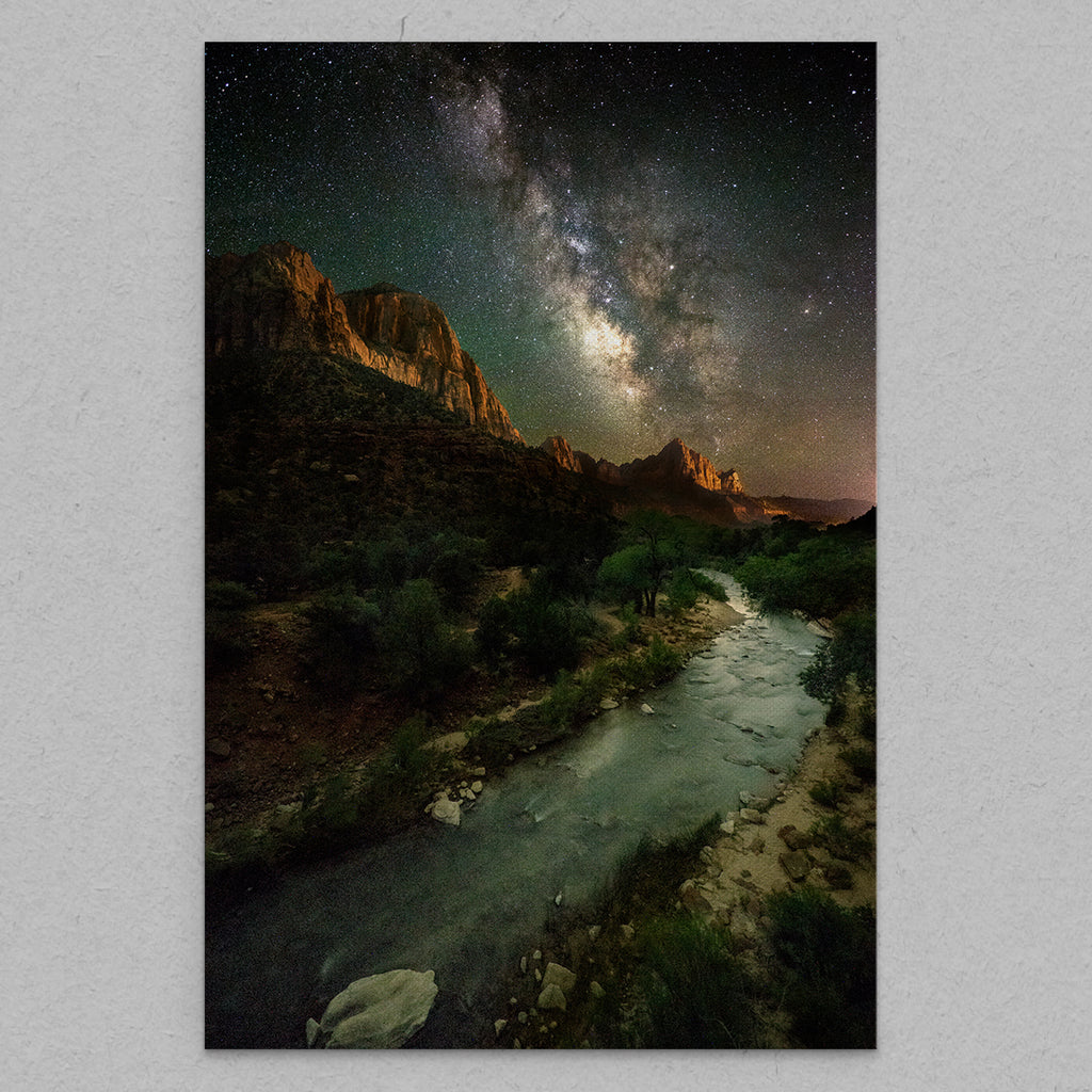 The Watchman - Canvas by Nate Polta