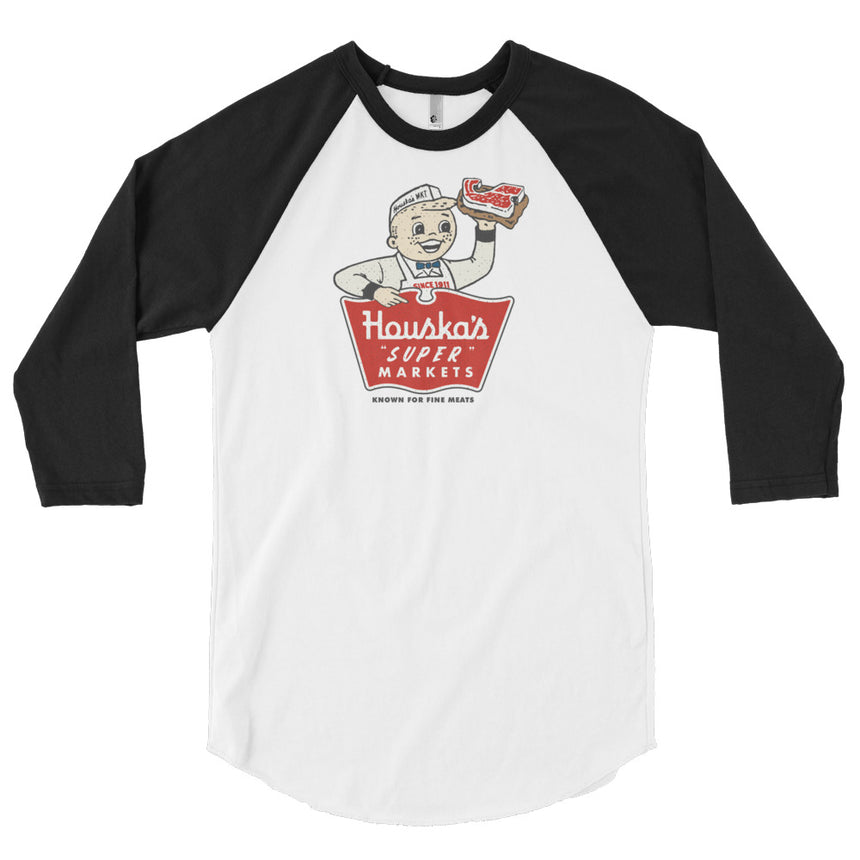 "Houska's ""Super"" Markets 3/4 Tee"