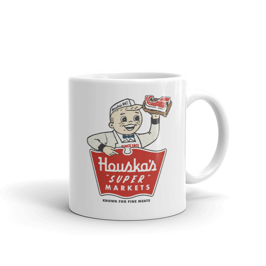 "Houska's ""Super"" Markets Mug"