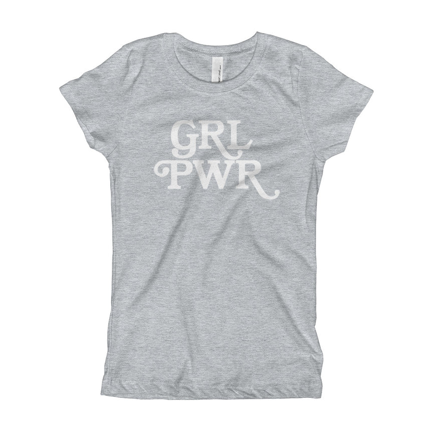 GRL PWR by Andrea Bosnak - Girl's Tee (6 Colors)