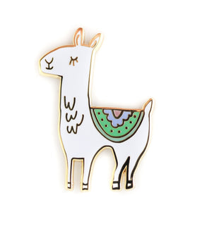 The Penny Paper Co. - Enamel Pin, Llama