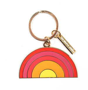The Penny Paper Co. - Enamel Keychain, Sunrise