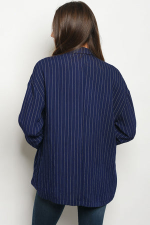 NOT-RIGHT-NOWVY BLAZER