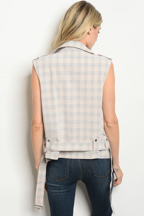 TAKE THE PLAID WITH THE GOOD VEST