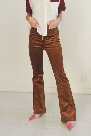 CORDUROY PANTS FRONT POCKET