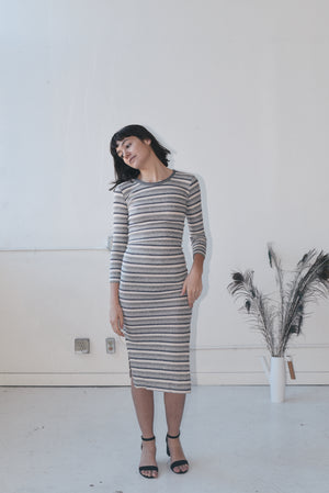 FEELING GREY-T DRESS