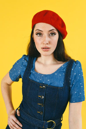 DOUBLE O DENIM MAMA JUMPER