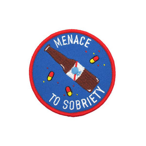 Explorer's Press - Menace to Sobriety Patch