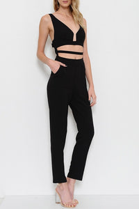 CUT-IT-OUT JUMPSUIT