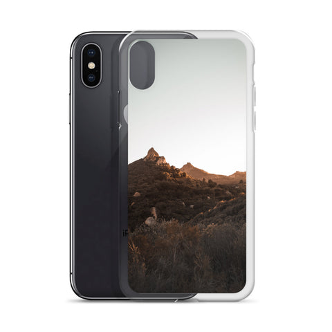 Malibu Mountains iPhone Case
