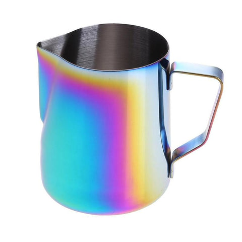 600ML Kitchen Stainless Steel Milk Frothing Jug Espresso Coffee Pitcher Barista Craft Coffee Latte Milk Frothing Jug Pitcher