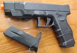P698+. P698+Glock Looking Spring Pistol w/2 Magazine, 2 Style Changeable