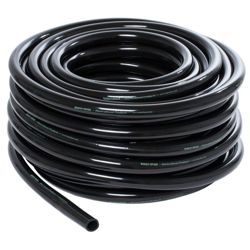 3/4″ Inner Diameter Black Flexible Vinyl Tubing – 100′ - Aquaponics For Life