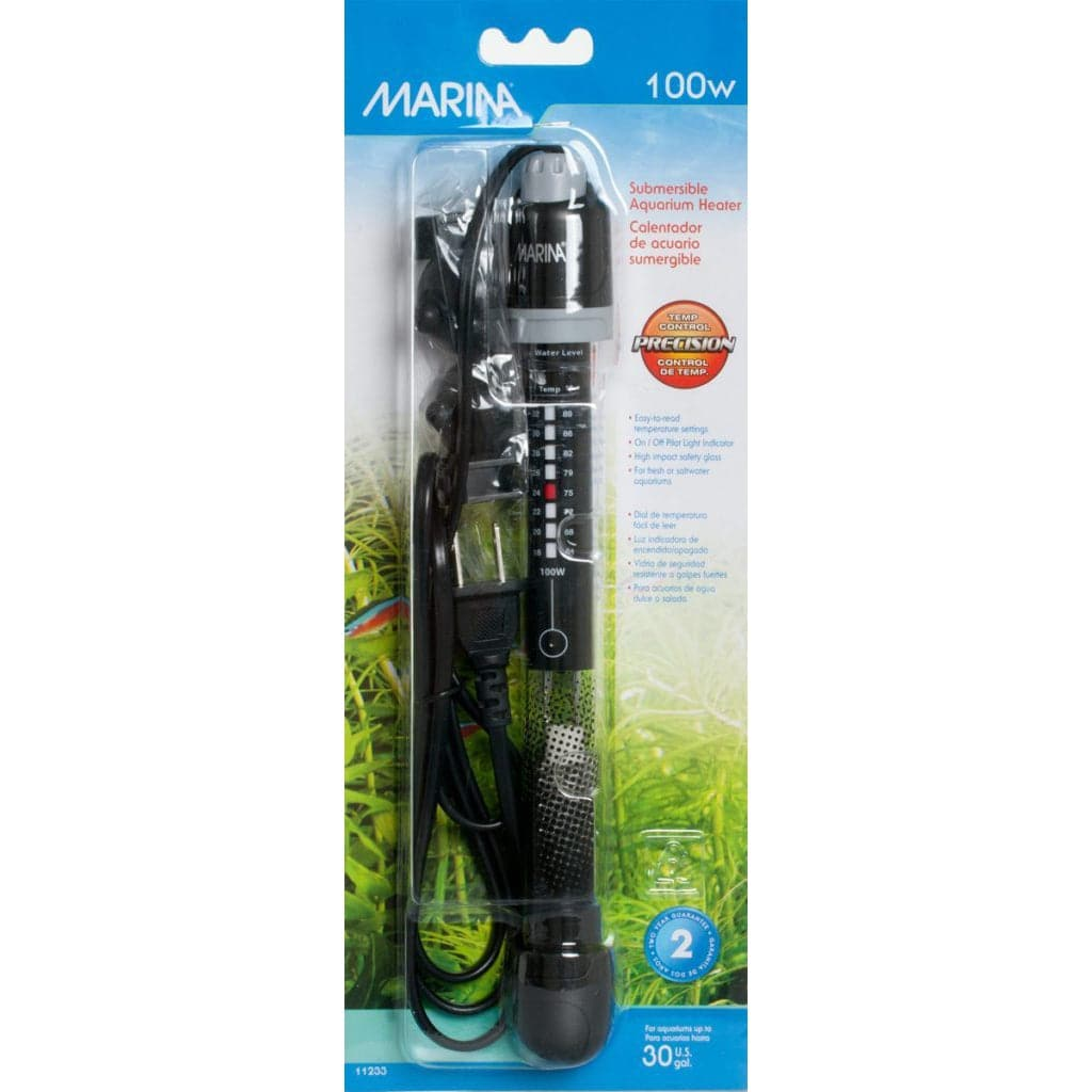 Marina Glass Heater 100 W - Aquaponics For Life