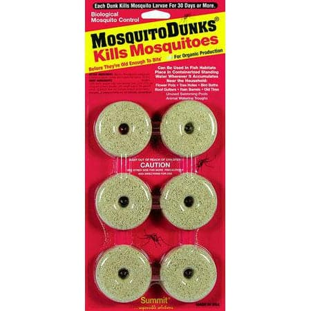 Mosquito Dunks (6/Card) - Aquaponics For Life