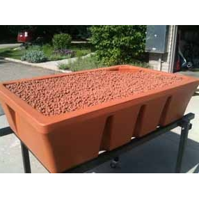 AquaBundance SpaceSaver Aquaponics Grow Bed with Bell Siphon - Aquaponics For Life